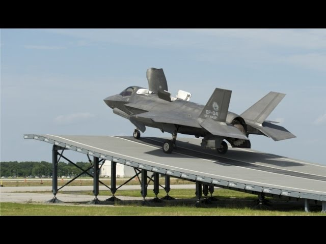 INCREDIBLE! F-35B Vertical Take-Off, Vertical Landings, Ski Jump Take-Off, Short Take-Offs!