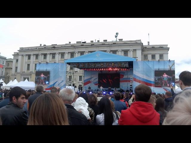 Клава Кока @ День России на Дворцовой Не отпускай