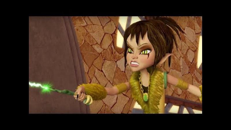 Сабрина маленькая ведьма –все серии подряд -сборник 16-20 - мультфильм для девочек