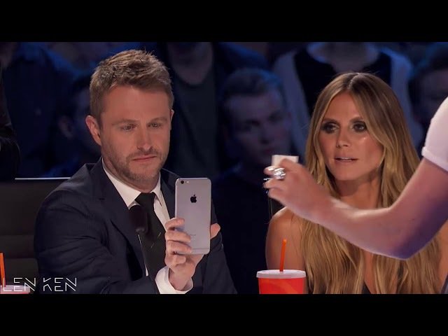 CAN'T BELEIVE IN EYES ➤ TOP 5 MAGICIAN Judge Cuts America's Got Talent 2017
