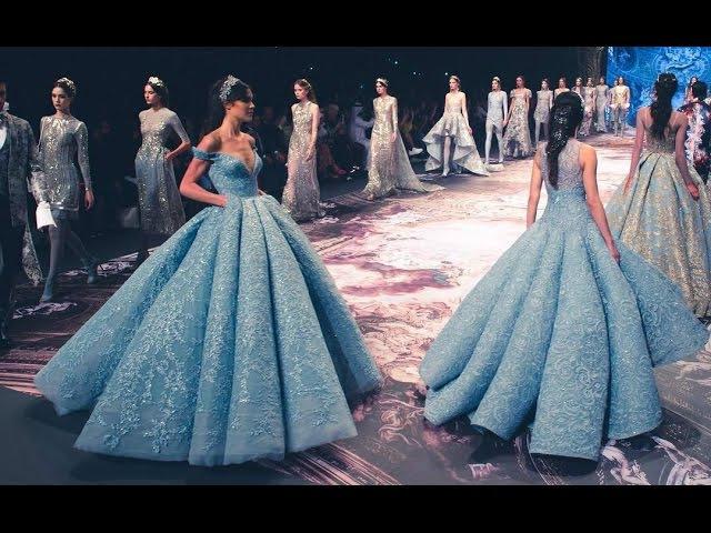 Michael Cinco Full Show Haute Couture Fashion Forward Dubai Fall Winter 2017 2018