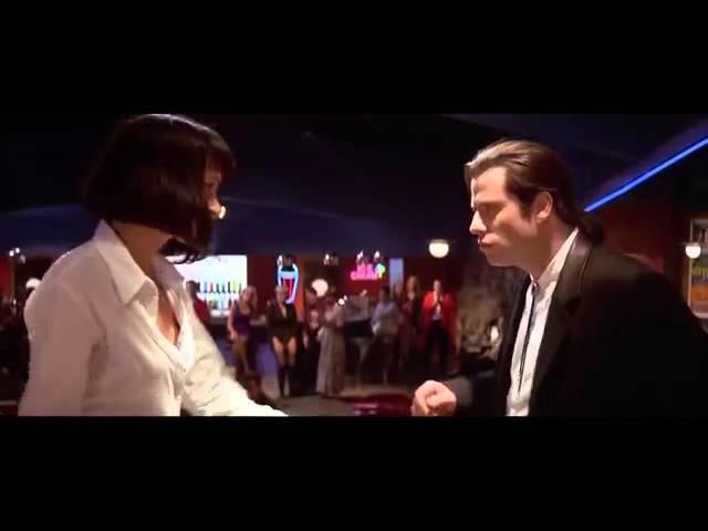 Pulp Fiction (Dancing scene). Georgian lezginka. ქართული ლეზგინკა. Грузинская лезгинка.