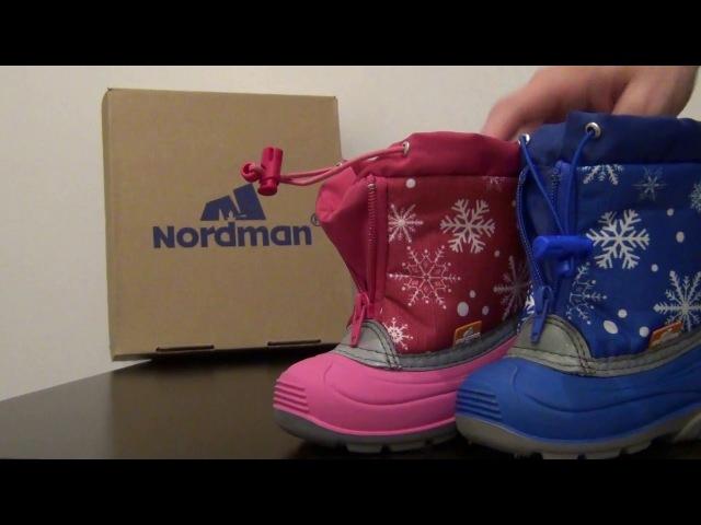 13_Детские зимние сноубутсы Nordman ПС-23 М1
