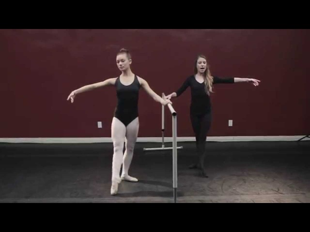 Basic Ballet w/ Laura- Lesson 8 Ron De Jambe
