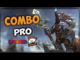 Dota 2 Pro Combo - Magnus, Warlock, Kunkka and Queen of Pain Virtus.pro Combination EPICENTER 2017