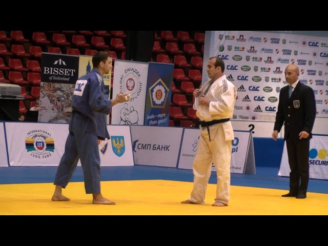 Judo Veterans EM 2012 Opole M4-73kg Finale Gamzatov(RUS) - Glyvuk(RUS)