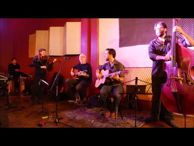 Bonaventure Quartet - Tchavolo Swing - Steves Live Music @ 5 Seasons Westside - Sat Nov192016
