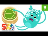 The Bumble Nums Make Tricky Sticky Rice Dumplings  Cartoons for Kids