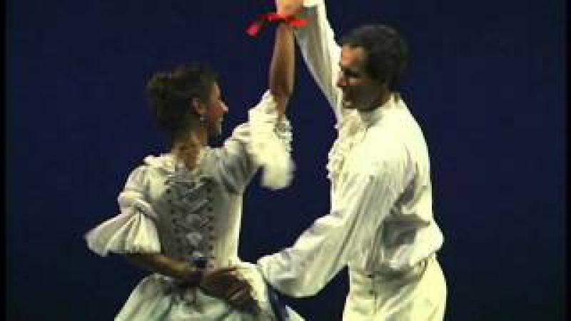 Allemande Dança de corte barroca