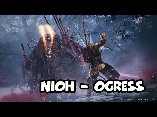 NIOH - Ogress Огриха (PC) 1440p 60fps