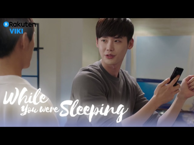 While You Were Sleeping - EP13 | Lee Jong Suk's Happy Dance [Eng Sub]