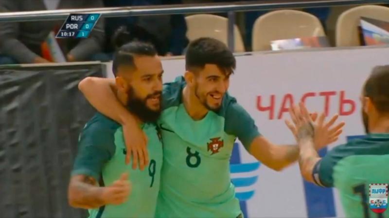 Товарищеские матчи. Россия - Португалия. Игра №1. Марсио. 0:1.