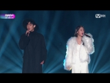 Soyou + Chanyeol (EXO) - Stay With Me @ 2017 MAMA in Hong Kong 171201