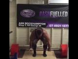 Оделл Мануэль - тяга 390 кг без экипировки