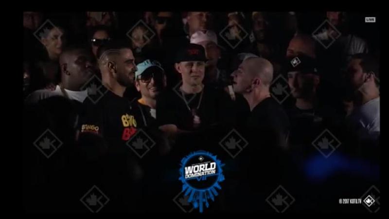 Full 🔥OXXXYMIRON VS DIZASTER | WORLD DOMINATION | VERSUS BATTLE | KING OF THE DOT 2017!!