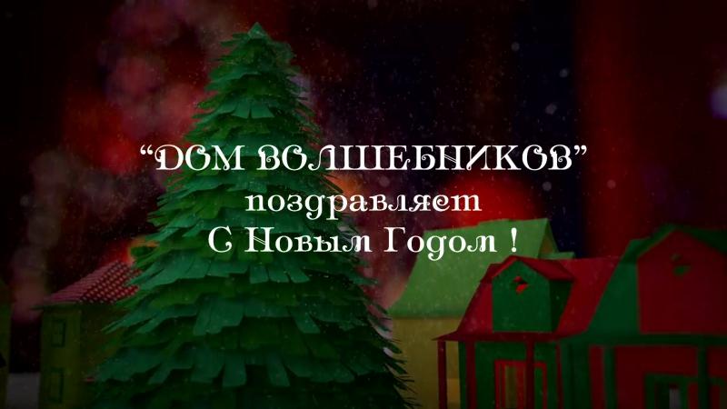Дом Волшебников.Новый год