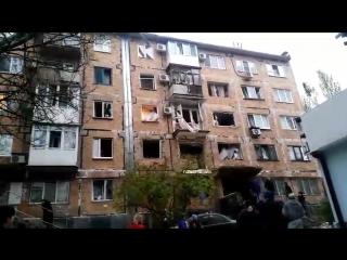 Взрыв Донецк 26 10 2017