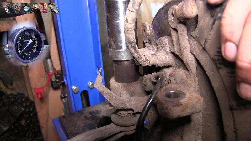 Большой ремонт задней подвески 406