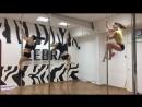 Люда, Катя, Юля pole dance трюки