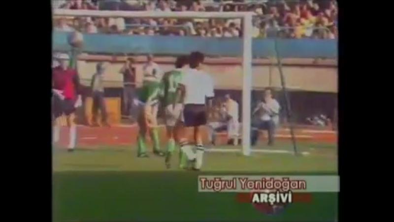 Kupa Galipleri Kupası - 1984-1985 Sezonu - 1. Tur 2 Maç - Beşiktaş 1-1 Rapid Wien