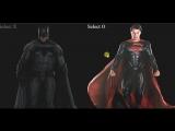 Tic-tac-toe Batman v Superman