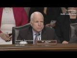 Джон Маккейн и кандидат на пост министра обороны США генерал Мэттис