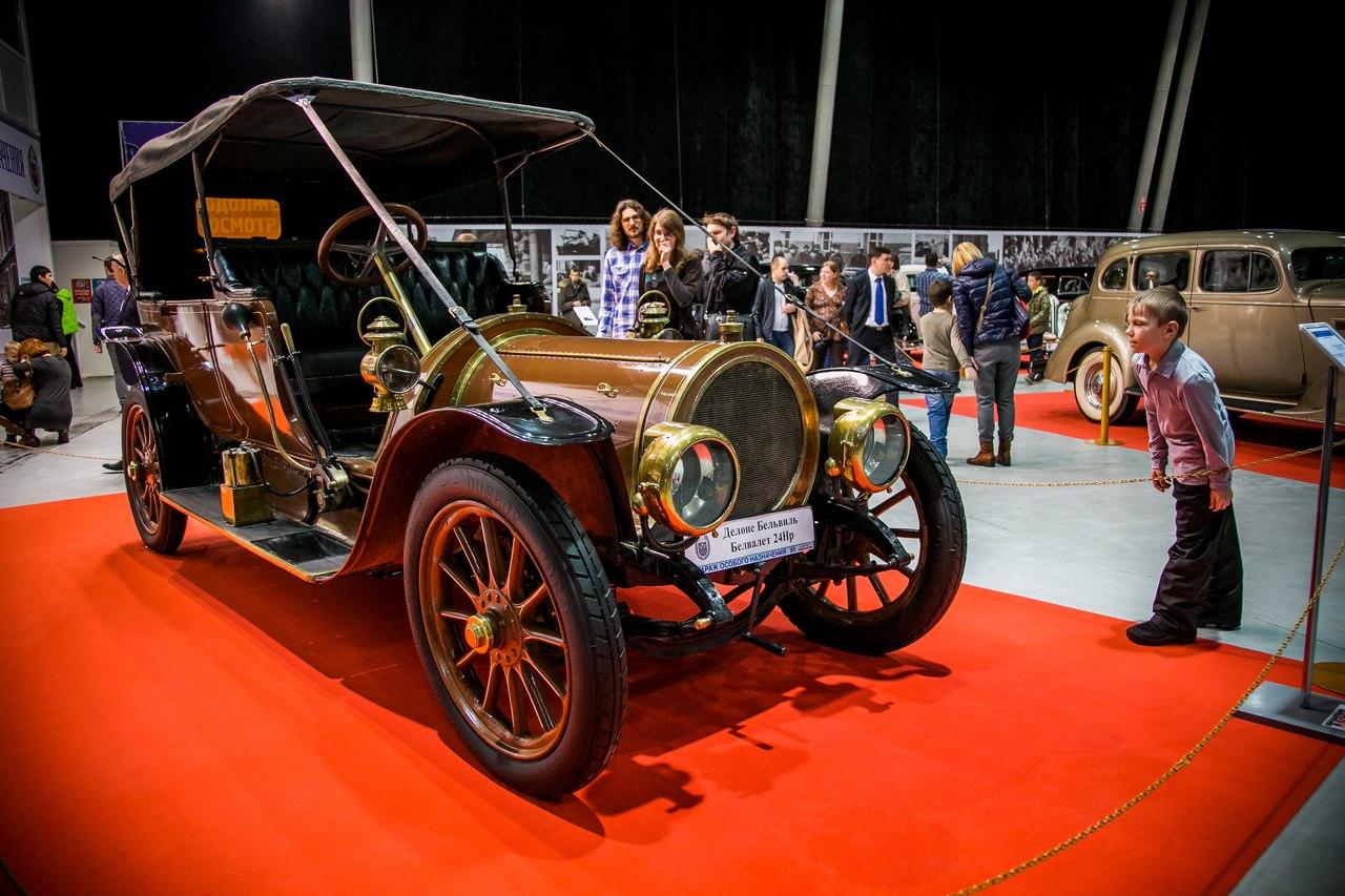 Навыставке в российской столице показали любимый автомобиль НиколаяII