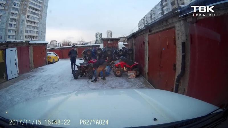 Подростки пытались угнать квадроциклы (ч. 2)