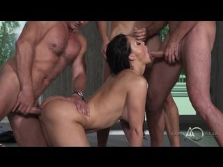 Aletta Ocean [MILF, Brunette, Doggystyle, POV, Blowjob, Big Tits, Gonzo, DP, Anal]