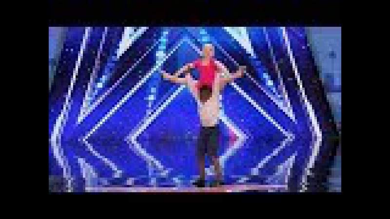 America's Got Talent 2017 Simon Hates Child Dance Duo Artyon Paige Full Audition S12E02