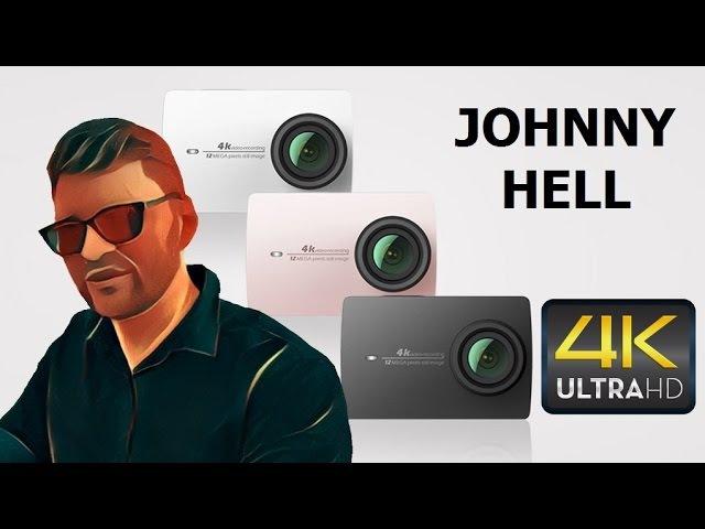 Обзор и тест экшен камеры XIAOMI YI 4K Джонни VLOG ВЛОГ