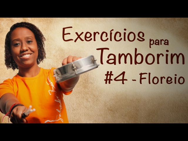 Exercícios para tamborim 4 - Floreio 1