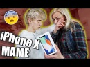 НЕОЖИДАННО ПОДАРИЛ МАМЕ iPHONE X ! айфон 10