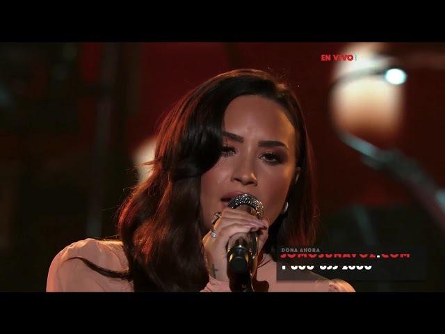 Demi Lovato - Hallelujah (Live at SOMOS Live!) - October 14