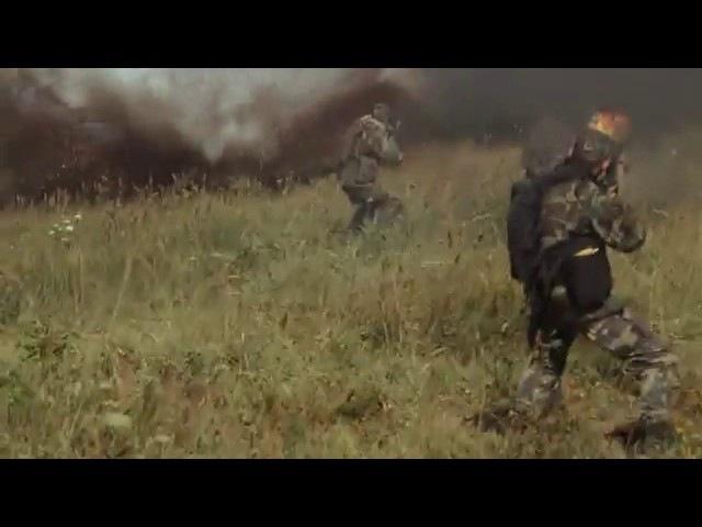 Фрагмент фильма Грозовые ворота Атака Ми 24Roman Polischuk79
