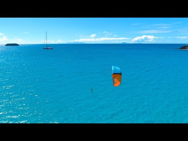 Foil Kiting in St Barts