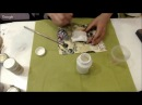 Два способа окрашивания пластиковых элементов Университет декупажа Оксана Демикова