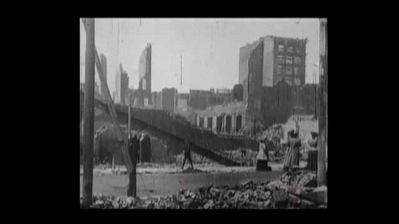 Unidentified Staples Charles. San Francisco after the earthquake and fire of 1906