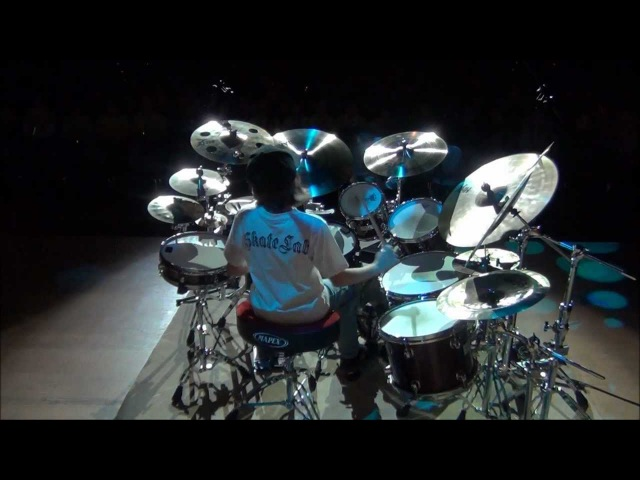 Igor Falecki drummer solo Polish Baltic Philharmonic ( 10 years old ) you tube,show