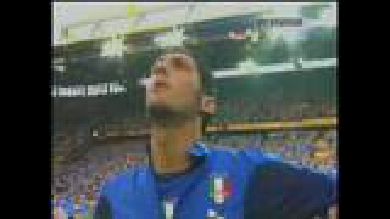 Italy Anthem before Germany Italy 2006 FIFA World Cup