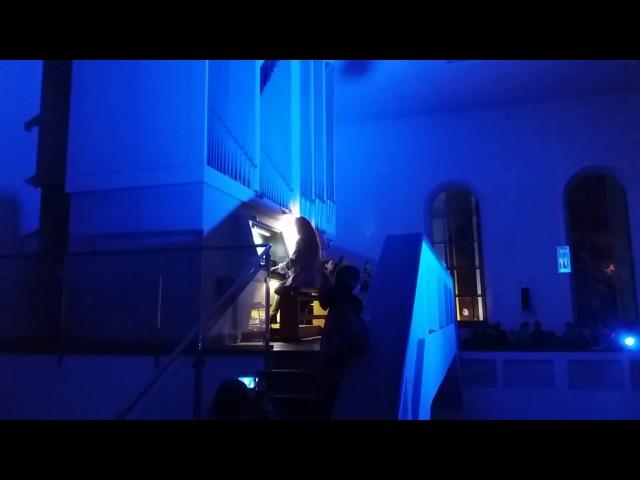 Концерты в Кирхе. Один из самых уникальных органов Европы. Анастасия Марушко. Игры. Одесса. Бах.