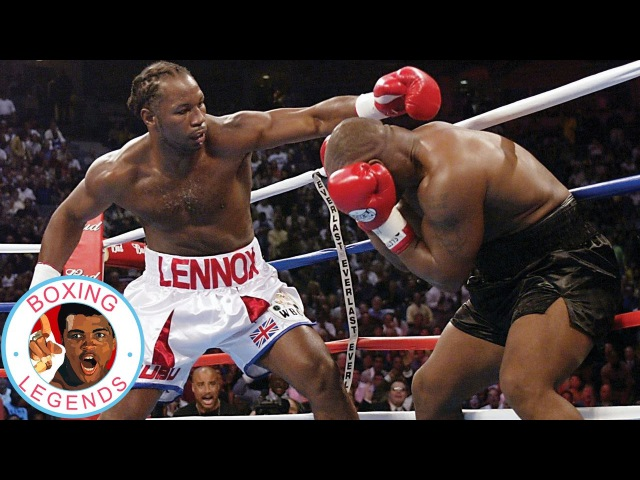 Mike Tyson vs Lennox Lewis (Highlights) [2002-06-08]
