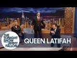 Queen Latifah's Dad Demonstrates on Jimmy How He Disarmed Two Robbers at Once