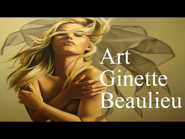 Приглашение к счастью художницы Жинетт Болье   Art Ginette Beaulieu   HD