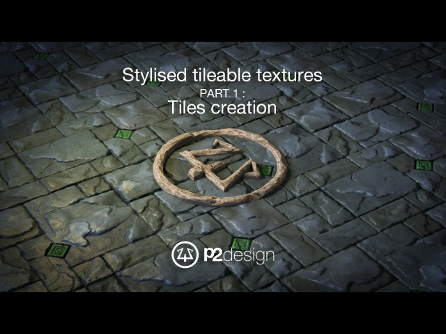 P2design Stylised tileable ROCK MAPS tutorial part 01