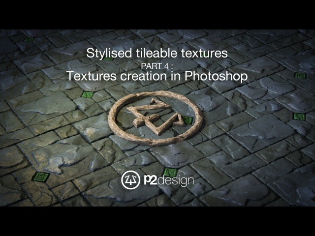 P2design Stylised tileable ROCK MAPS tutorial part 04