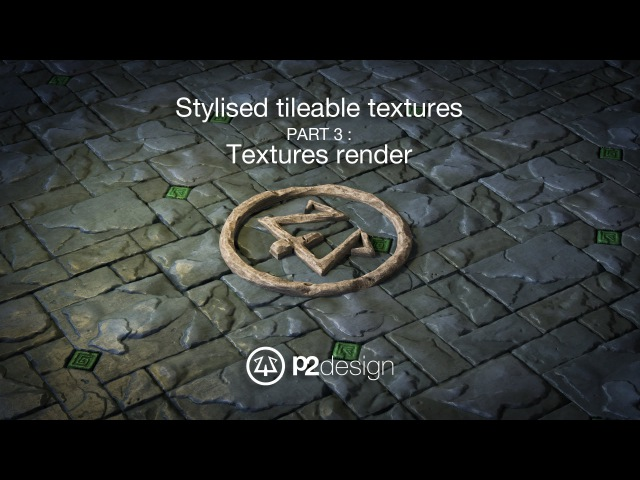 P2design Stylised tileable ROCK MAPS tutorial part 03