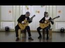 Дуэт гитаристов: Медведева Анастасия и Курилин Александр Степанович - О.Зубченко. Прелюд-мимолётность.