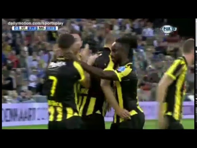 Vitesse vs NAC Breda 4-1 All Goals Highlights (Eredivisie) [12.08.2017]