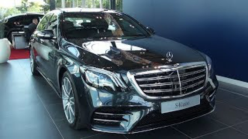 2018 Mercedes S Class Long AMG Full Review NEW S350d Interior Exterior Infotainment